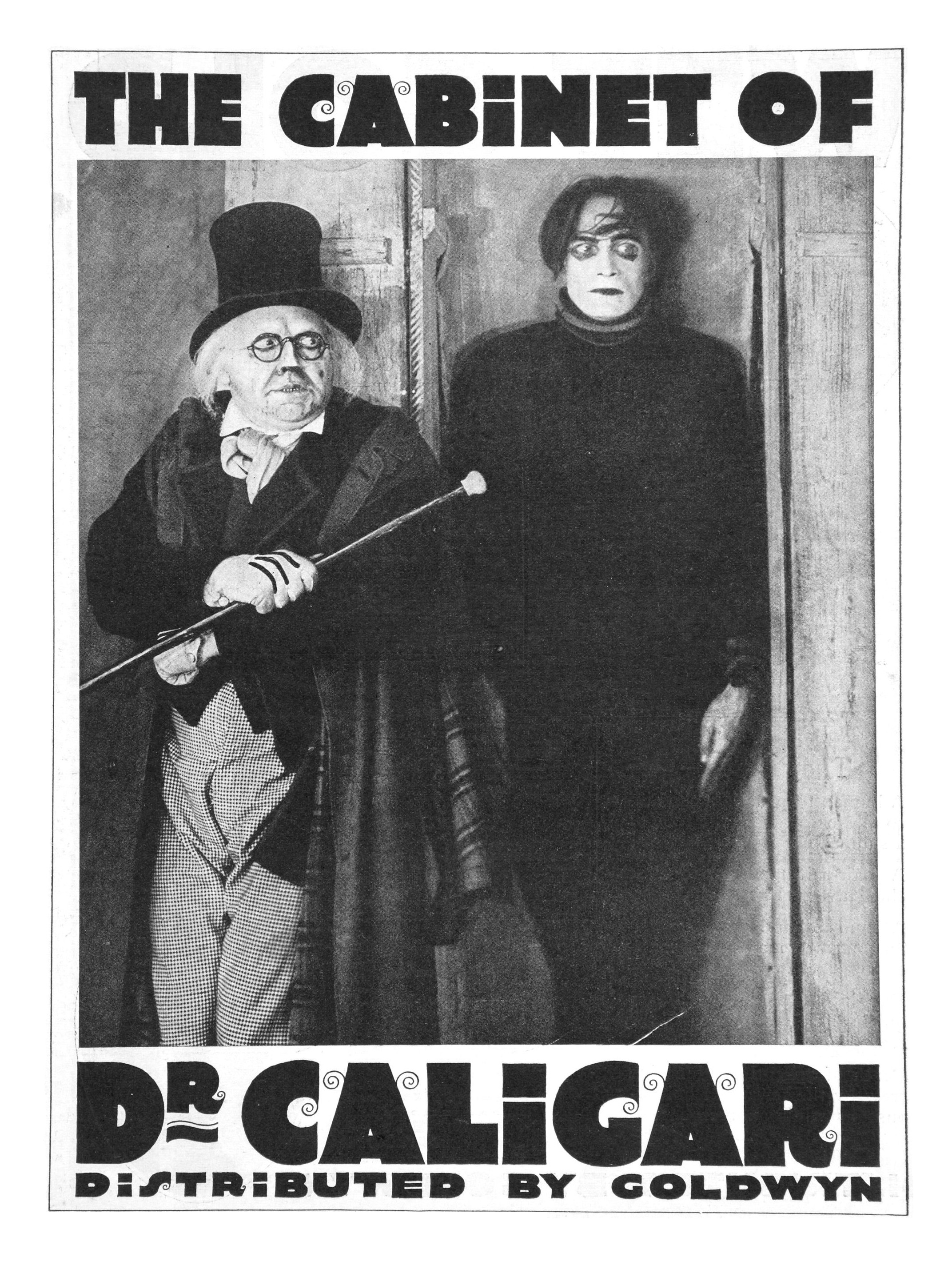 The cabinet of dr caligari did you see that one - Cesare the cabinet of dr caligari ...