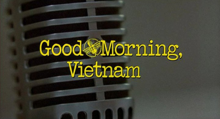 Good Morning Vietnam If You Do : Good morning vietnam did you see that one