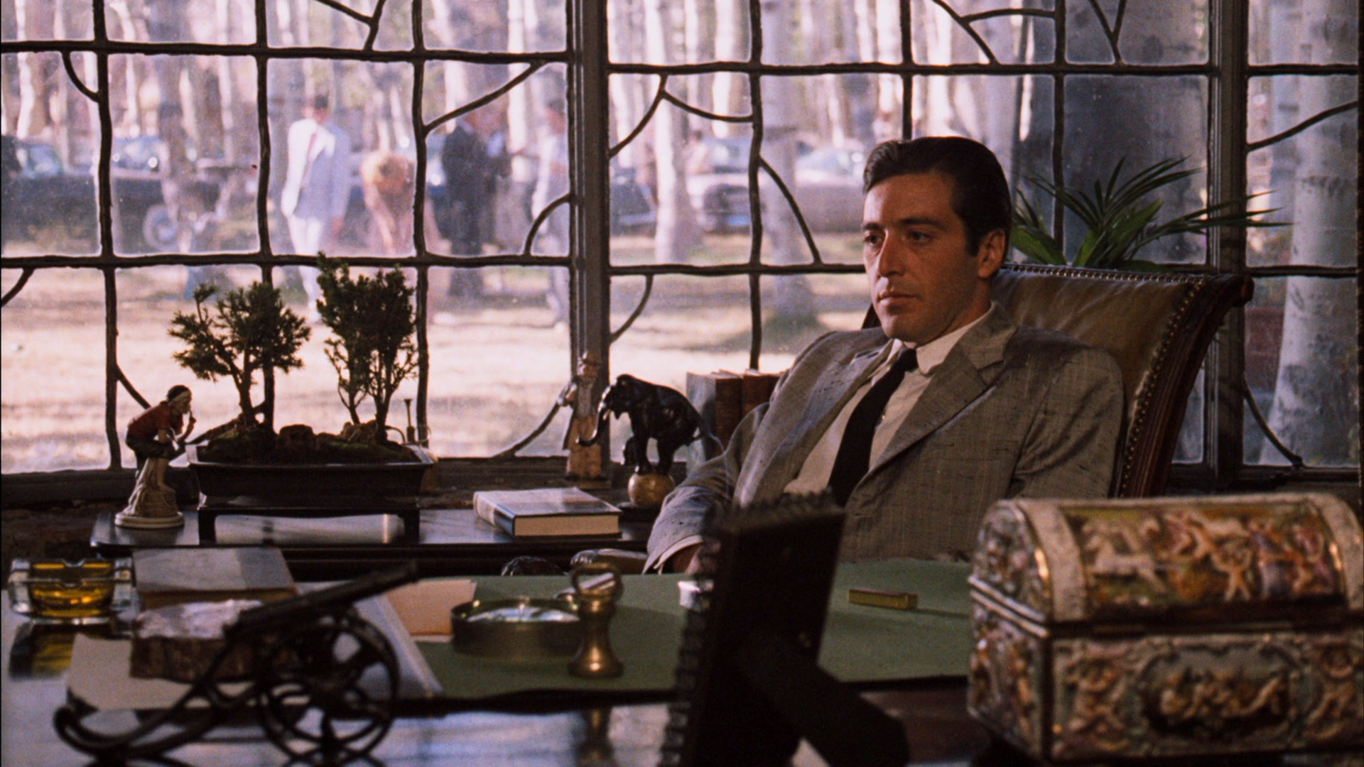 the godfather part ii The compelling sequel to the godfather, contrasting the life of corleone father and son traces the problems of michael corleone (al pacino) in 1958 and that of a young immigrant vito corleone .