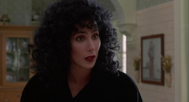 Image result for CHER IN MOONSTRUCK