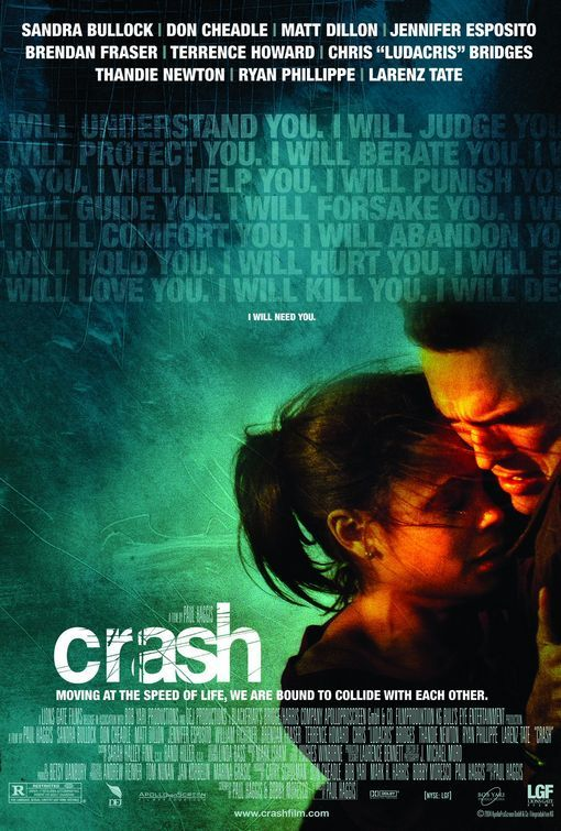 a review of paul haggiss movie crash Reviews counted: 236  crash was the first directorial project for award-winning  television and film writer  paul haggis  people who like this movie also like.