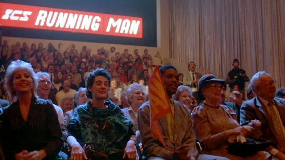 The movie the running man